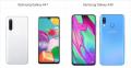 Samsung Galaxy A41 na Samsung Galaxy A40