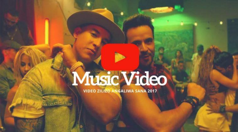 Video 10 za Muziki Zilizoangaliwa Sana YouTube Mwaka 2017