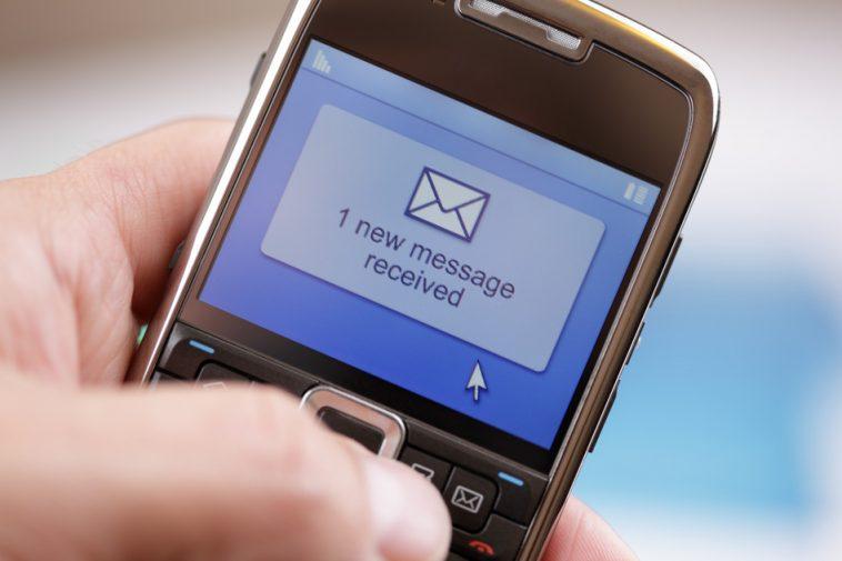 Ujumbe mfupi wa Maneno SMS