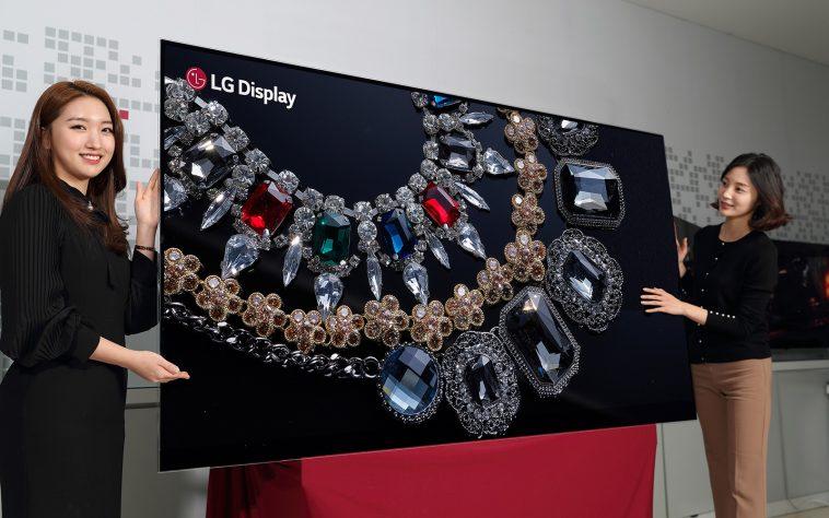 LG Yatangaza TV ya Kwanza ya Inch 88 Yenye Teknolojia ya 8K