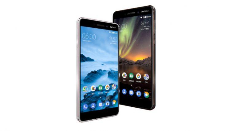 Sifa za Nokia 6 (2018)