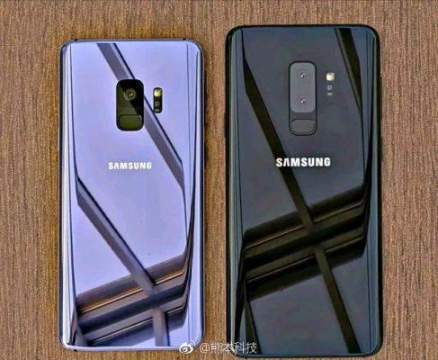 Huu Hapa Muonekano wa Simu za Samsung Galaxy S9 na S9 Plus