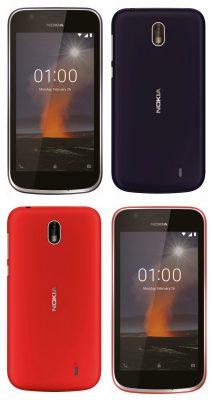 Picha za Simu Mpya Zinazokuja za Nokia 7 Plus na Nokia 1