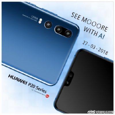 Huawei Kuja na Simu Mpya ya Huawei P20 Yenye Kamera Tatu