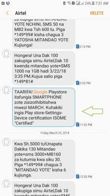 Google Kuzuia Baadhi ya Simu Kutumia Programu Zake