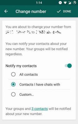 WhatsApp Kuja na Njia Mpya ya Kusaidia Kubadilisha Namba
