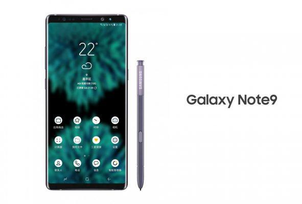 Tetesi : Hii Hapa Picha ya Kwanza ya Muonekano wa Galaxy Note 9