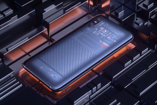 Simu ya Xiaomi Mi 8 Explorer Edition
