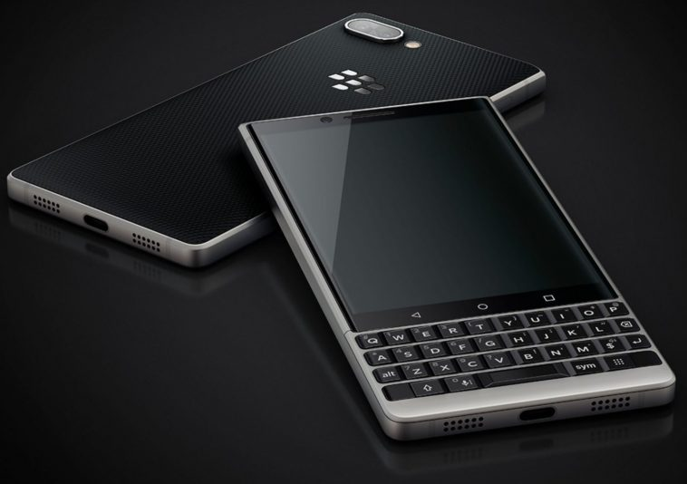 Muonekano wa blackberry-key2