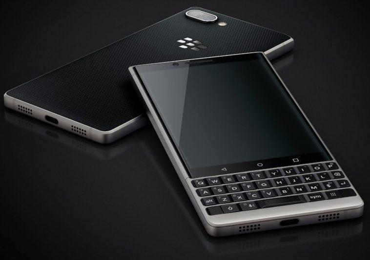 Muonekano wa blackberry-key2