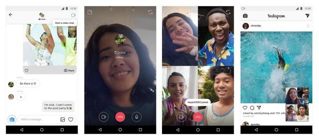 Instagram Yaongezewa Video Chat, Kamera Effect na Mengine