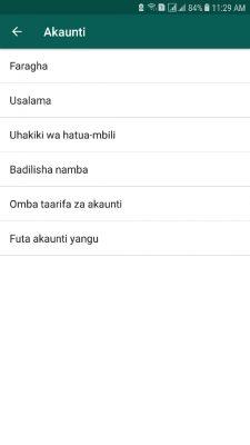 Je Wajua WhatsApp Sasa Inapatikana kwa Lugha ya Kiswahili