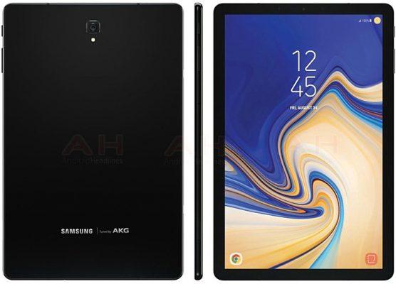 Muonekano wa Samsung Galaxy Tab S4