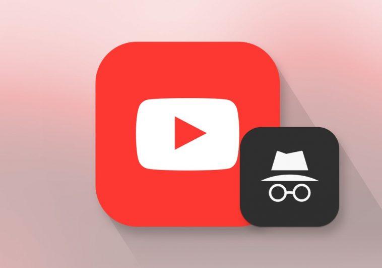 YouTube-incognito mode