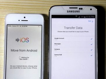Kuhama Android kwenda iOS