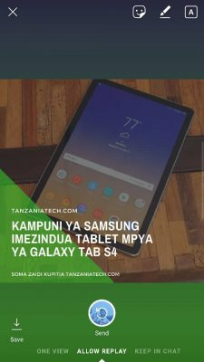 Haya Hapa Maboresho Mapya Kwenye App za Instagram