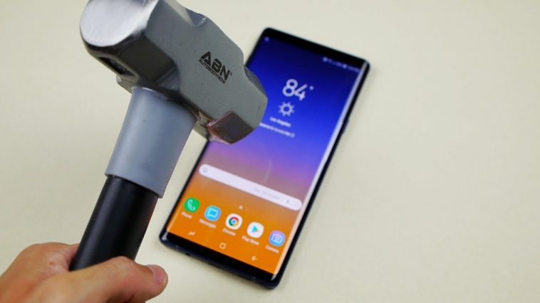Ugumu wa Samsung Galaxy Note 9