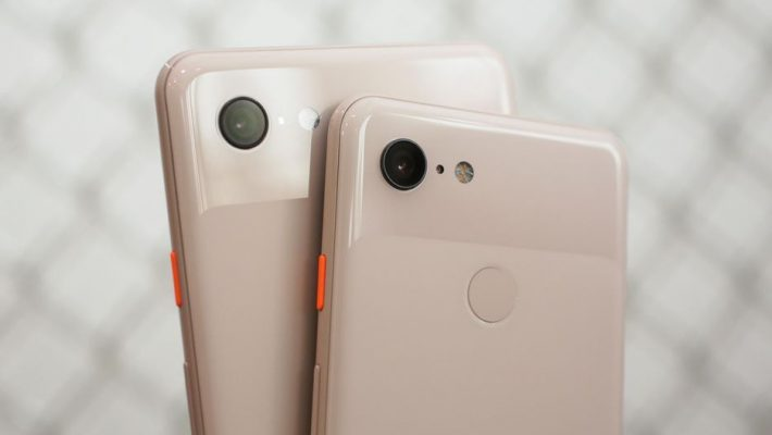 Google Pixel 3 na Pixel 3 XL