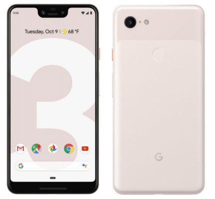 Muonekano wa Google Pixel 3 XL