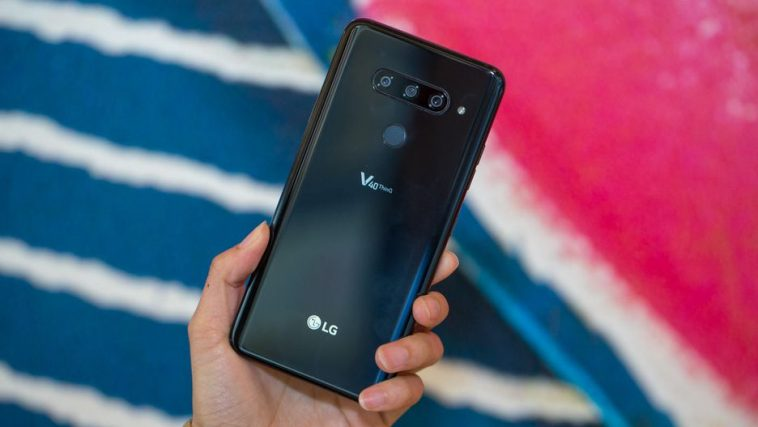 LG Yazindua Simu Mpya ya LG V40 ThinQ Yenye Kamera 5