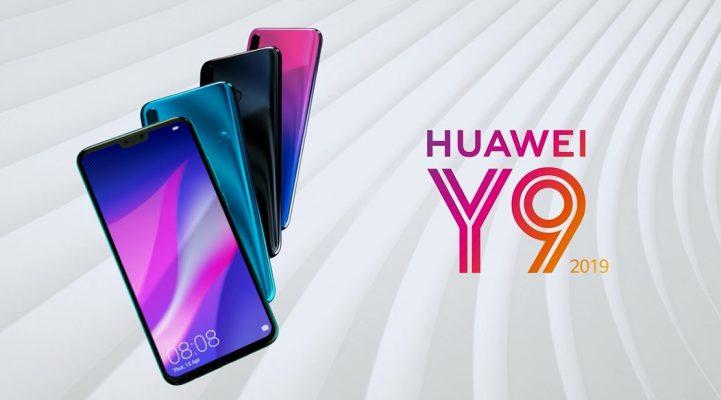 Simu ya Huawei Y9 (2019)