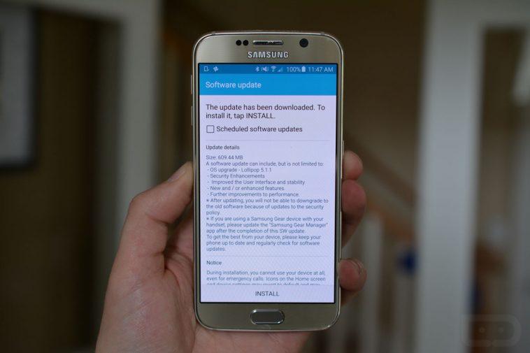 Update za Samsung