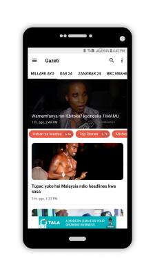 Soma Habari Zote Hapa Tanzania Kupitia Gazeti App