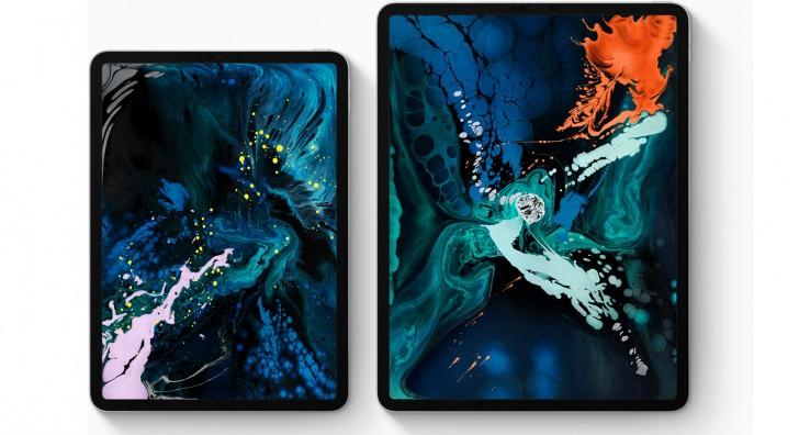 iPad Pro 11 (Kushoto) na IPad Pro 12.9 (Kulia).