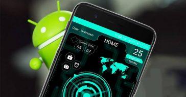 muonekano wa simu ya Android-launcher