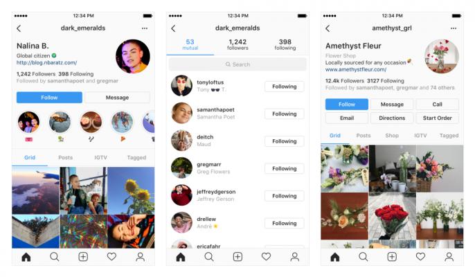 Instagram Kufanya Majaribio ya Muonekano Mpya wa Profile