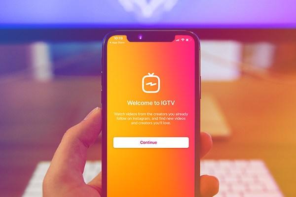 Share IGTV