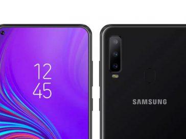 Simu mpua za Galaxy A8s na Galaxy M