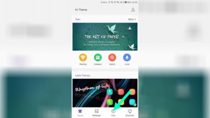 Badilisha Muandiko Kwenye Simu za Tecno na Samsung