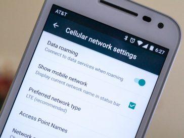 Data roaming