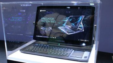 Laptop ya Game ya Acer Predator Triton 900