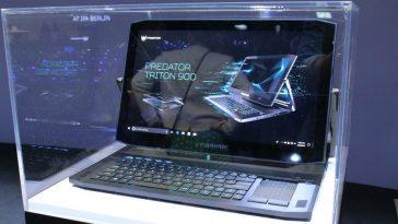 Laptop ya Game ya Acer Predator Triton 900