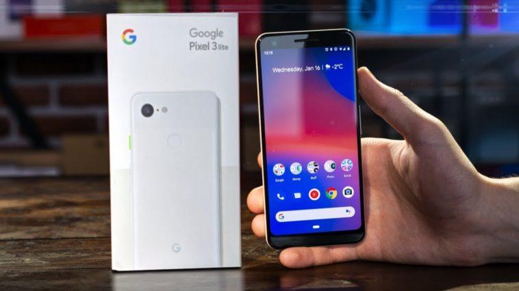 Muonekano wa Google pixel 3 Lite