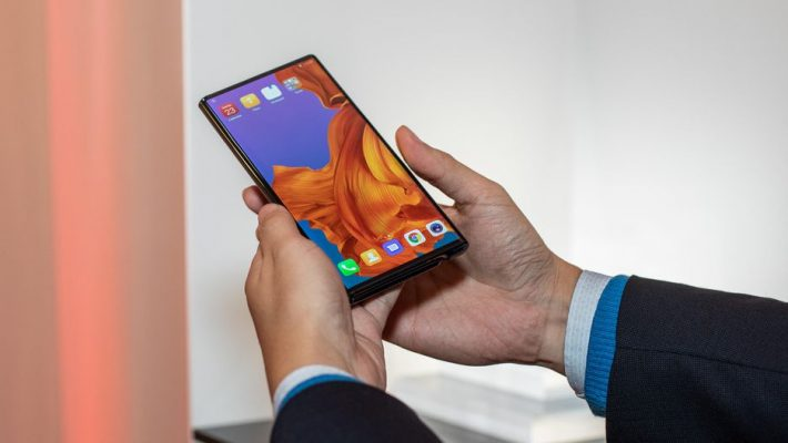 Huawei Mate X Simu Bora Kwenye Mkutano wa MWC 2019