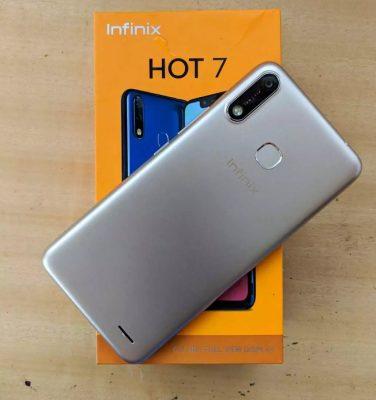 Zifahamu kwa Undani Hizi Hapa Sifa na Bei ya Infinix Hot 7