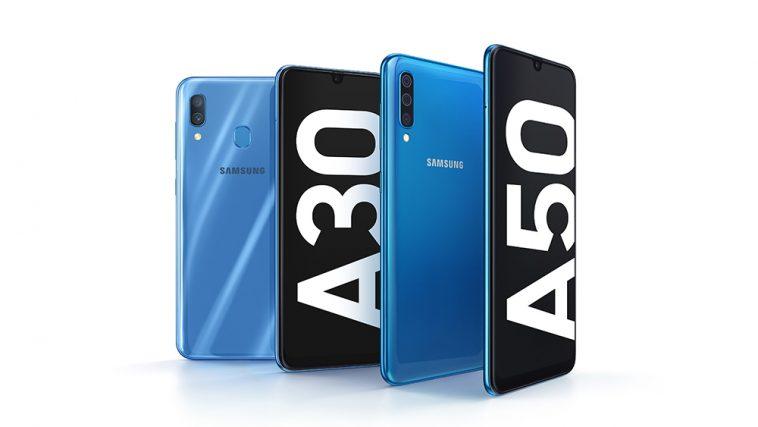 Sifa na bei ya Galaxy A30 na Galaxy A50