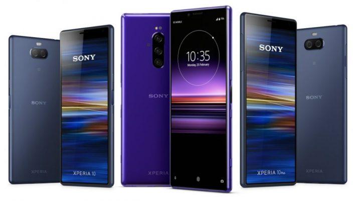 Sony Yazindua Simu Mpya za Sony Xperia 1, Xperia 10 na 10 Plus