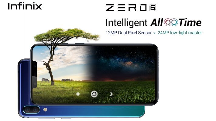 Zero 6 Kamera