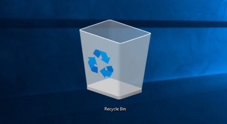 Kufanya Vitu Vijifute Kwenye Recycle Bin Unapozima Kompyuta