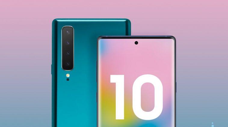 Tetesi : Huu Ndio Muonekano wa Samsung Galaxy Note 10