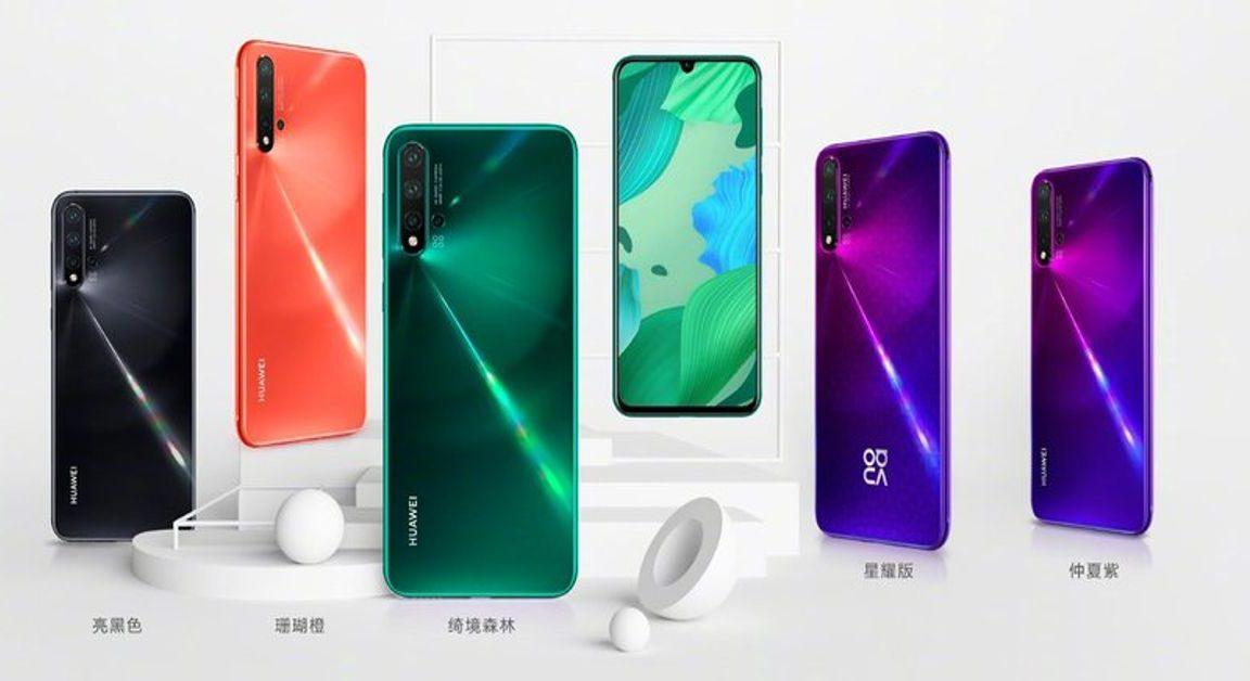 Huawei Yazindua Simu Mpya za Nova 5, Nova 5i na Nova 5 Pro