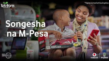 Vodacom Tanzania Kupitia M-pesa Yaja na Huduma Mpya ya Songesha