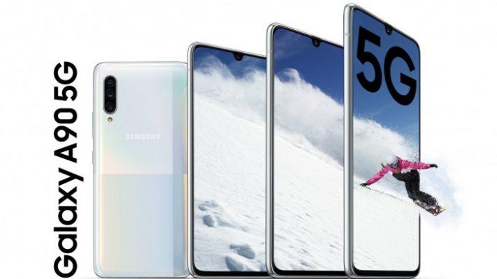 Kampuni ya Samsung Yazindua Simu Mpya ya Galaxy A90 5G