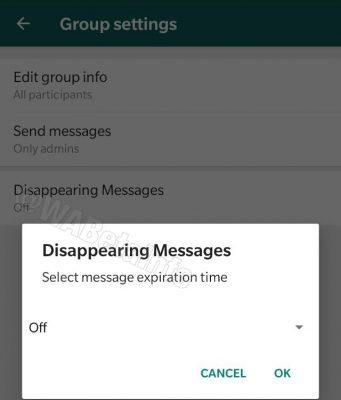 WhatsApp Kuja na Aina Mpya ya Meseji Zinazojifuta Zenyewe