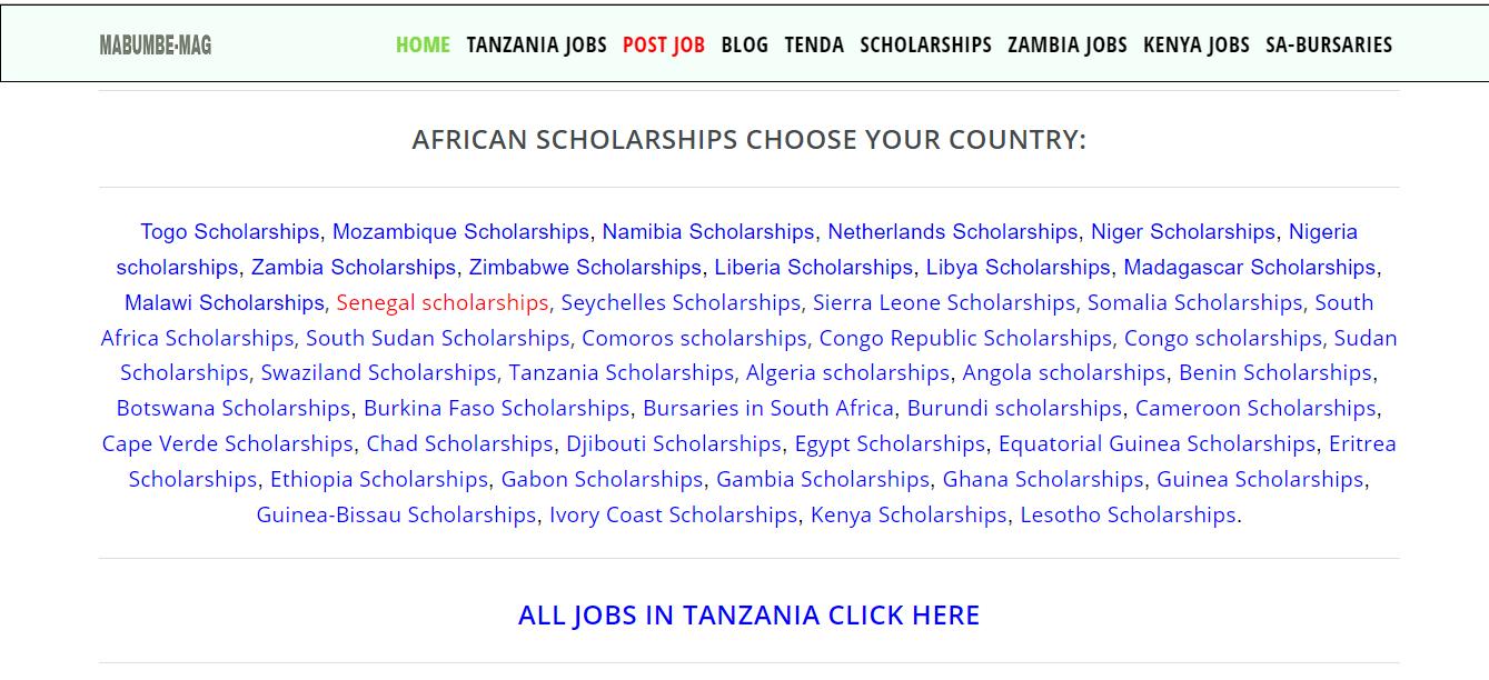 Hizi Hapa Tovuti Bora za Kusaidia Kupata Ajira Tanzania