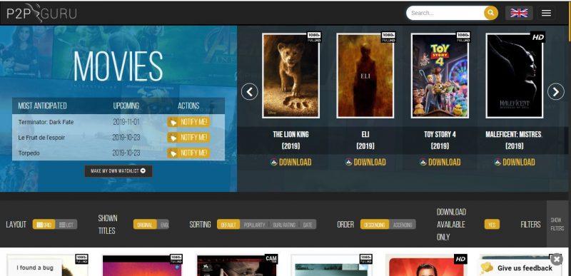 Zifahamu Hizi Hapa Tovuti Bora za Kudownload Movie Mpya